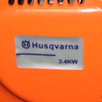 Этикетка на поддельной бензопиле Husqvarna 3.4 KW